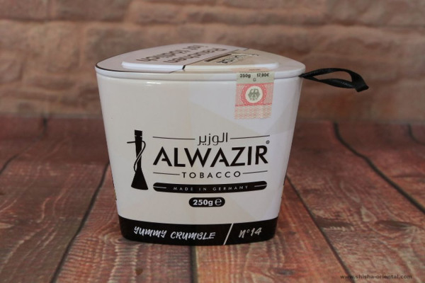 Tabak Alwazir No.14 Yummy Crumble 250g