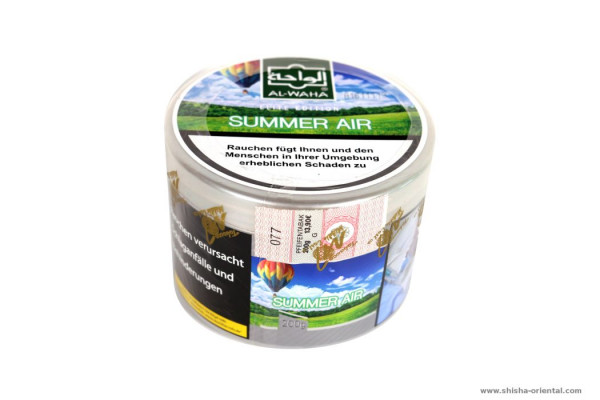 Tabak Al-Waha Summer Air 200g