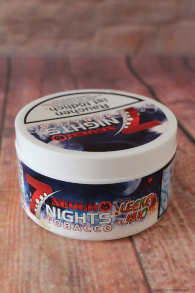 Tabak 7 Nights Tobacco Lecko Mio 200 g