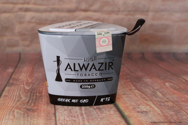 Tabak Alwazir No.18 Break Me Bad 250g