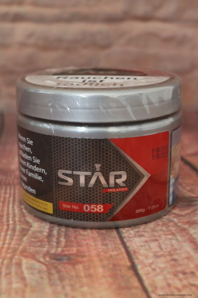 Tabak STAR No. 058 (Candy Sweets) 200 g