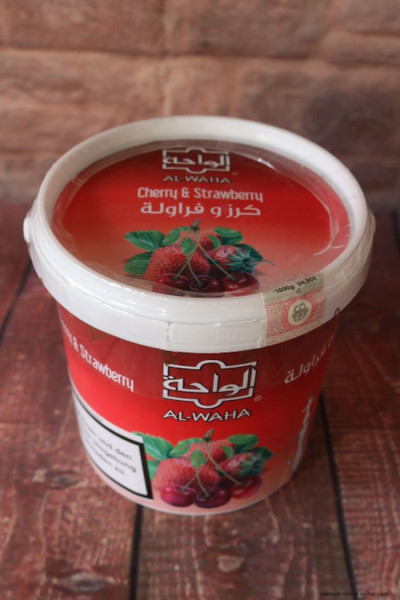 Tabak Al-Waha Sheri Straw-B (Cherry & Strawberry) 1 kg